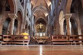 Duomo Interior In Modena, Italy