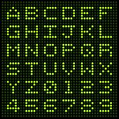 Led Alphabet And Numbers