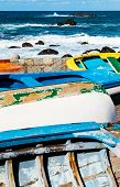 Old Rowboats In Taganana Coast