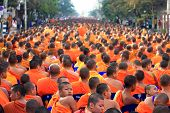 Chiang Mai monk gathering