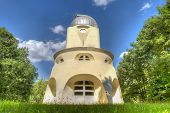 The Einstein Tower In Potsdam At The Science Park In Hdr