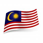 State flag of Malaysia.