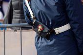 Bandolier Of Italian Policeman
