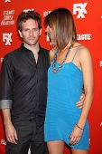 LOS ANGELES - SEP 3:  Glenn Howerton, Jill Latiano at the FXX Network Launch Party  at the Lure on S