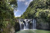 Shifen waterfall , Shifen , Pingxi, New Taipei, Taiwan