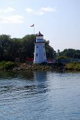 The Cheboygan Crib Lighthouse