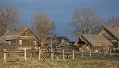 Abandon Timbered Houses