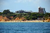 foto of vilamoura  - Beach Maria Luisa Albufeira Algarve Portugal Summer - JPG