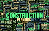 Construction Industry and other Business Word Art