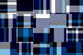 Abstract tartan fabric background C.