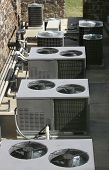 image of air conditioner  - Row of AC - JPG