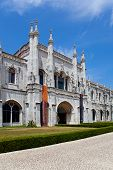 Lisbon, Portugal, June 18, 2013: National Museum of Archeology (Museu Nacional de Arqueologia) in th