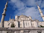 Another angle of Blue Mosque, Istanbul