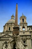 Piazza Navona In Rome,italy