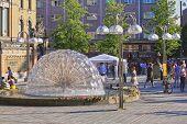 Johanne Dybwads Plass In Oslo, Norway