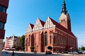 Elblag City, St. Nicholas Cathedral
