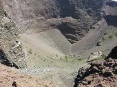 Crater Of Mount Vesuvius