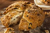 stock photo of baking soda  - Traditional Irish Soda Bread for St - JPG