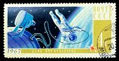 Ussr Stamp, Cosmonautics Day
