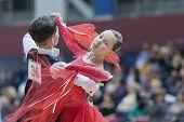 Minsk, Belarus, February, 9: WDSF Championship
