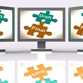 Draft Final Puzzle Shows Write And Rewrite