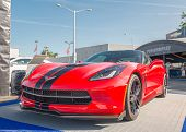 2015 Corvette At The Woodward Dream Cruise