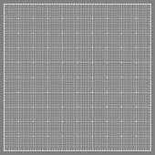 Square grid background. Vector