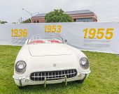 1953 Corvette At The Woodward Dream Cruise
