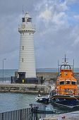 Lighthouse and Lifeboat