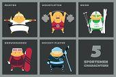 Sportsmen set
