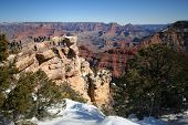 A Winter Day at Mather Point