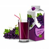 Grape juice set