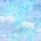 Vintage Background Sky
