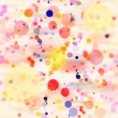 Abstract Watercolor Background Splash