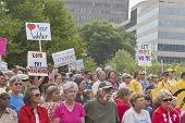 Unhappy Moral Moday Protesters