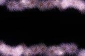 Fireworks Or Firecracker Of Frame.