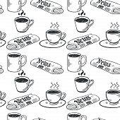 Coffee break pattern