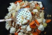 Vegetables In A Wok
