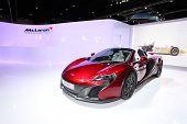 Bangkok - August 19: Mclaren 650S Car On Display At Big Motor Sale On August, 2014 In Bangkok, Thail