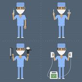 pic of surgeons  - Illustration - JPG