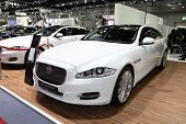 Bangkok - August 19: Jaguar Xj Car On Display At Big Motor Sale On August, 2014 In Bangkok, Thailand