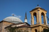 mosque and church