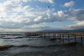 pier on Lake Iznik