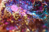 Abstract Background From A Metal Mineral.to