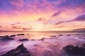 Beautiful Sunset and Ocean