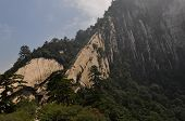 China scenery of Huashan