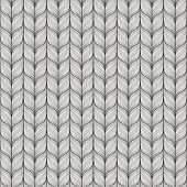 Seamless pattern with abstract hand drawn knitted texture