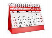 Calendar For Apri
