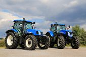 Two New Holland Agricultural Tractors