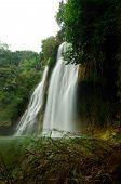 Beautiful Deep Waterfall